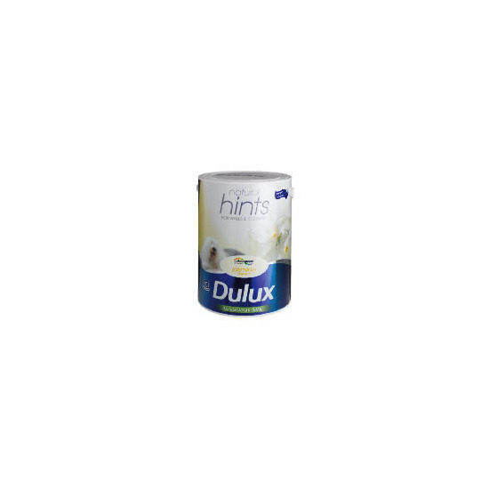Dulux Hints Silk Jasmin White 5L