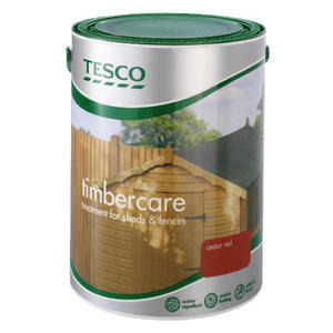 Photo of Tesco Timbercare Red Cedar 5L Home Miscellaneou