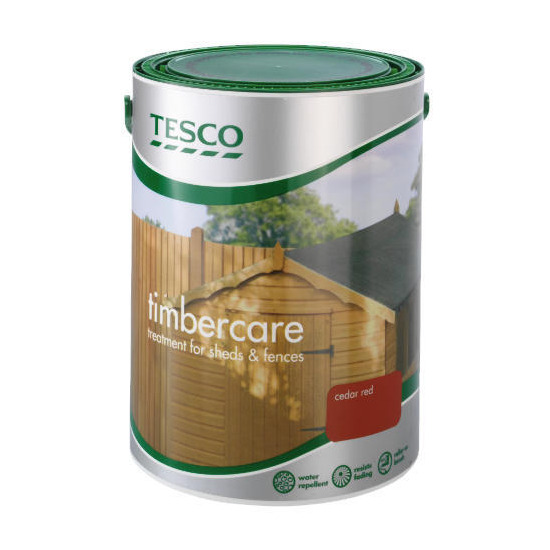 Tesco Timbercare Red Cedar 5L