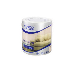 Photo of Tesco Matt Latte 2.5L Home Miscellaneou