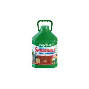 Photo of Cuprinol Sprayable Rich Cedar 5L Home Miscellaneou