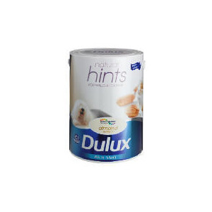 Photo of Dulux Hints Matt Almond White 5L Home Miscellaneou