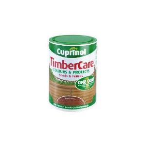 Photo of Cuprinol Timbercare Rustic Brown 5L Home Miscellaneou