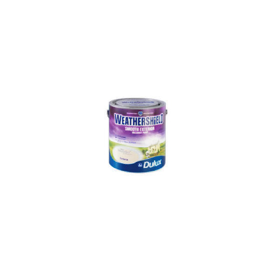 Dulux Weathershield Smooth Masonry Gardenia 5L