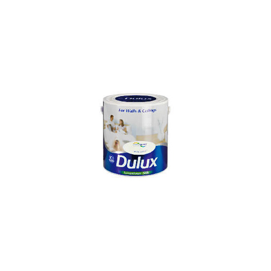 Dulux Silk White Cotton 2.5L