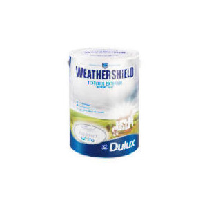Photo of Dulux Weathershield Textured Masonry PBW 5L Home Miscellaneou