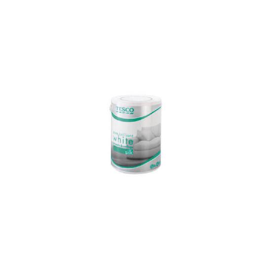 Tesco Silk White Emulsion 5Ltr