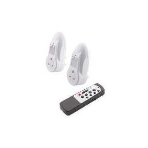 Photo of Tesco Energy Saving Remote Control Sockets 2PK Power Supply
