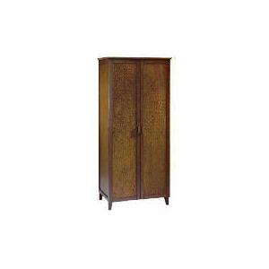 Photo of Belize 2 Door Wardrobe, Dark Finish Furniture