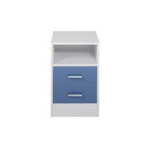 Photo of Sydney 2 Drawer Bedside Chest, Blue Furniture