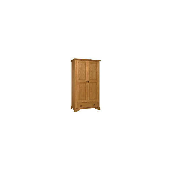 Toulouse 2 door 1 drawer Wardrobe