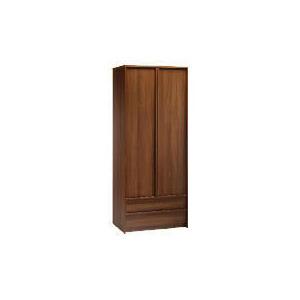 Photo of Santona 2 Door 2 Drawer Wardrobe, Walnut Effect Furniture