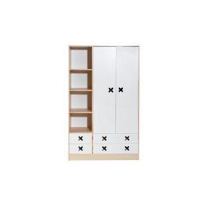 Photo of Cottonwood 2+4 Combi Robe, White Furniture