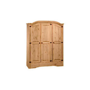 Photo of Honduras 3 Door Wardrobe, Antique Pine Furniture