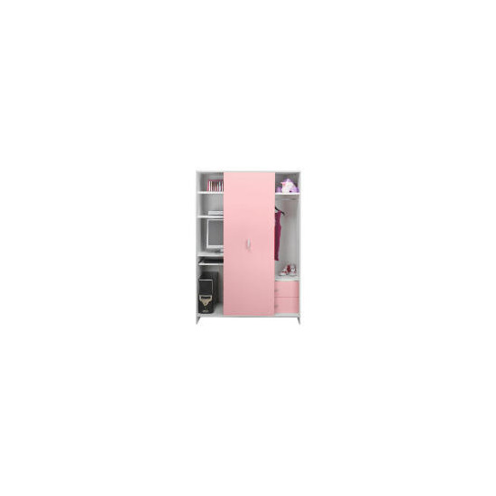 Sydney Multimedia Wardrobe, Pink