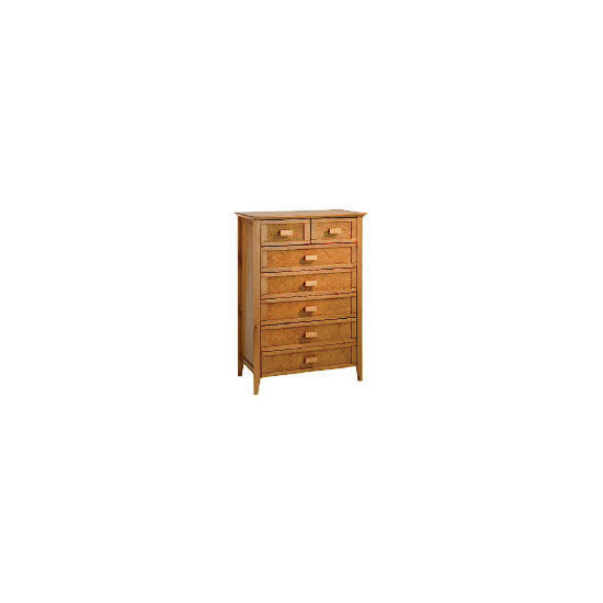 Belize 5 + 2 drawer Chest, antique finish