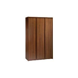 Photo of Santona 3 Door Wardrobe, Walnut Effect Furniture