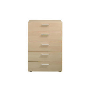 Photo of Havana 5 Drawer Chest, Maple Effect Furniture