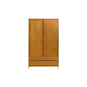 Photo of Monzora Large 2 Door Wardrobe, Oak Furniture