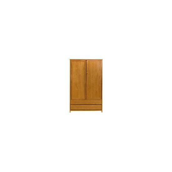 Monzora Large 2 door Wardrobe, Oak