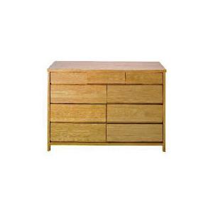 Photo of Monzora 6 & 3 Drawer Chest, Oak Furniture