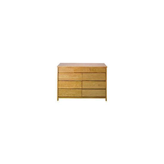 Monzora 6 & 3 drawer Chest, Oak
