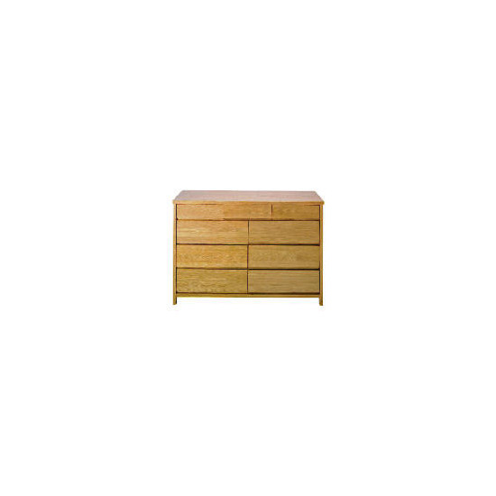 Monzora 6 & 3 drawer Chest, Oak