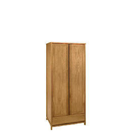 Monzora 2 door Wardrobe, Oak Reviews