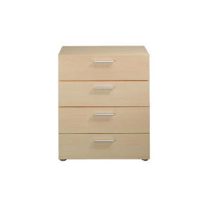 Photo of Havana 4 Drawer Chest, Maple Effect Furniture