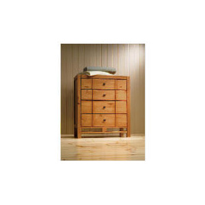 Photo of Bento 4 Drawer Chest, Natural Furniture