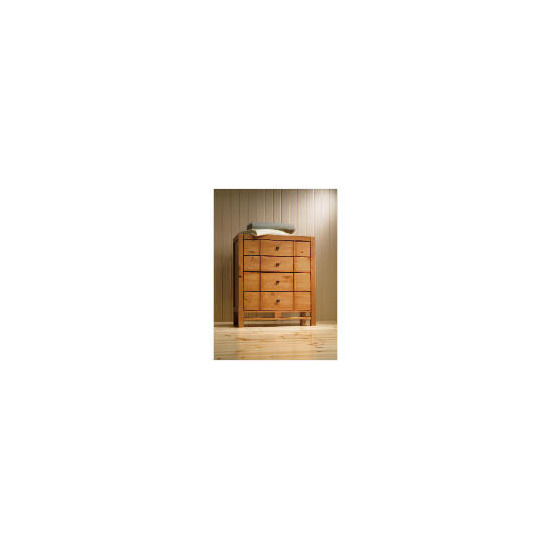 Bento 4 drawer Chest, Natural