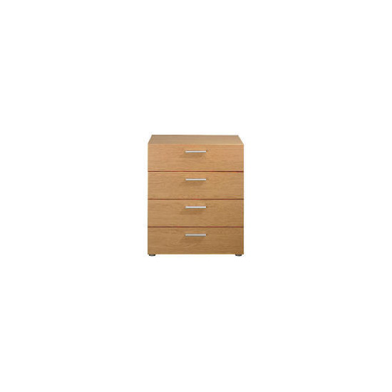 Havana 4 drawer Chest, Oak effect