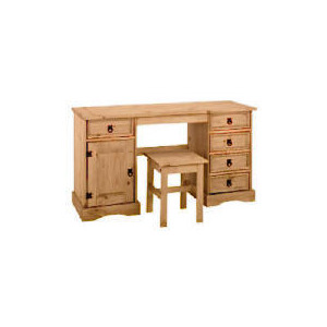 Photo of Honduras Dressing Table and Stool, Antique Pine Furniture