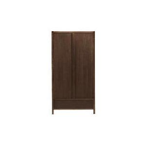 Photo of Hanoi 2 Door Wardrobe, Walnut Effect Furniture
