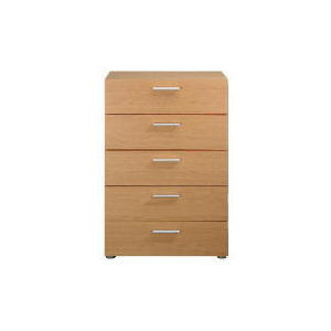 Photo of Havana 5 Drawer Chest, Oak Effect Furniture