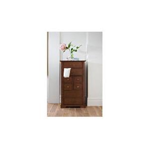 Photo of Finest Malabar Tallboy 8 Drawer Chest, Dark Stain Furniture