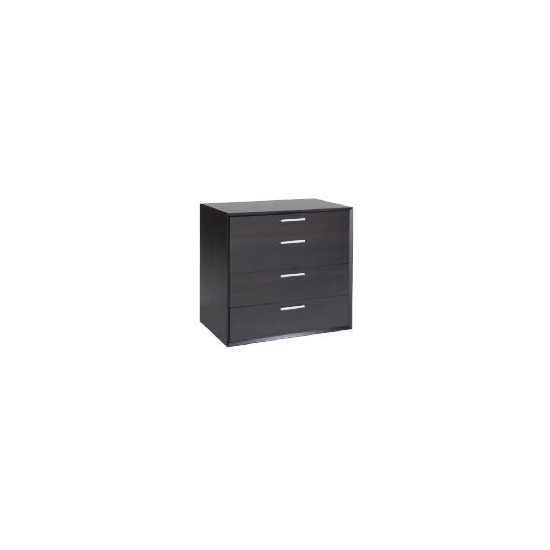 Bologna 4 Drawer Chest, Coffee