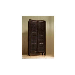Photo of Bento 2 Door Wardrobe, Dark Stain Furniture