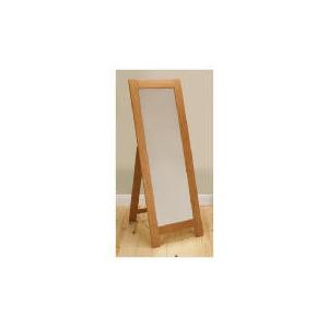 Photo of Hamilton Floor Standing Mirror, Oak Furniture