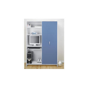 Photo of Sydney Multimedia Wardrobe, Blue Furniture