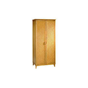 Photo of Belize 2 Door Wardrobe, Antique Finish Furniture