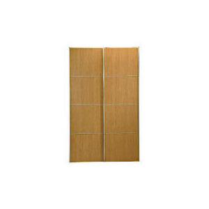 Photo of Havana 2 Door Sliding Wardrobe, Oak Effect Furniture