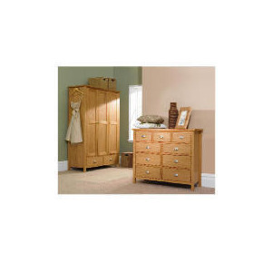 Photo of Oakland 3 Door 2 Drawer Wardrobe Furniture