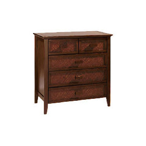 Photo of Belize 3 + 2 Drawer Chest, Dark Finish Furniture