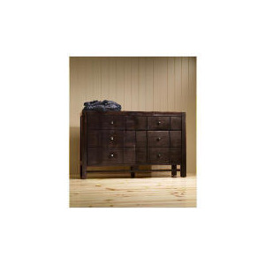 Photo of Bento 6 Drawer Chest, Dark Stain Furniture