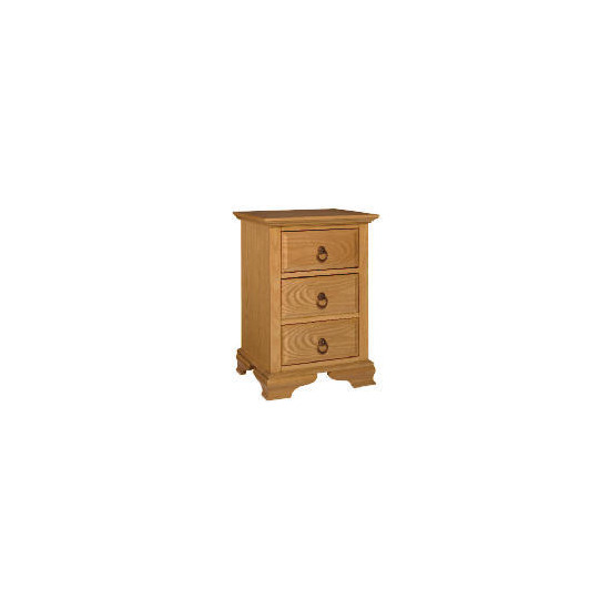 Toulouse 3 drawer Bedside Chest