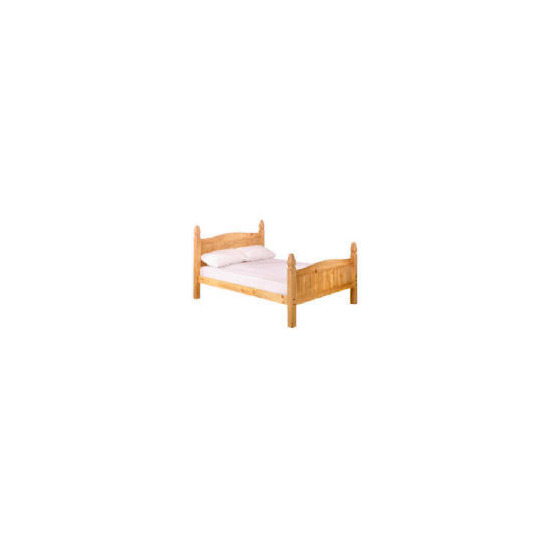 Honduras King Bedstead, Antique Pine