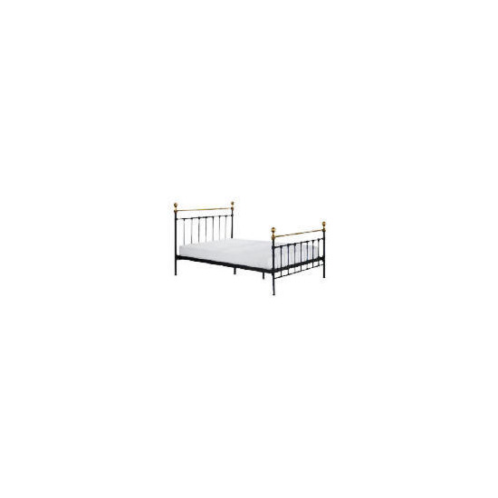 Banbury Double Bedstead, Black