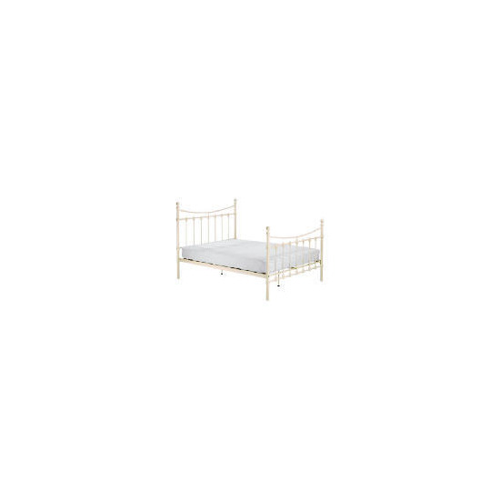 Suffolk Double Bedstead, Cream