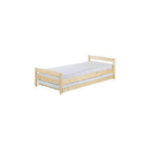 Photo of Scandinavia Single Guest Bed and Storage, Pine Bedding